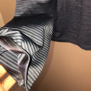 Under Armour Shirts - UNDER ARMOR | Striped Tech Long Sleeve Top Shirt L